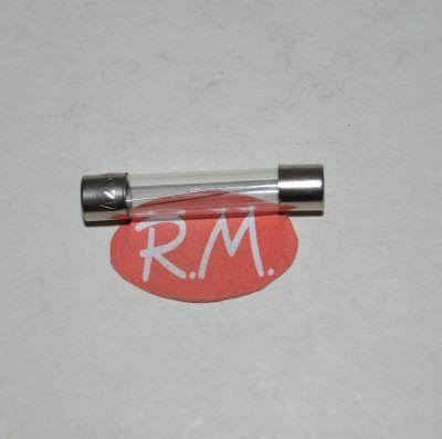 Fusible cilíndrico cristal 1A 6.3 x 32 mm