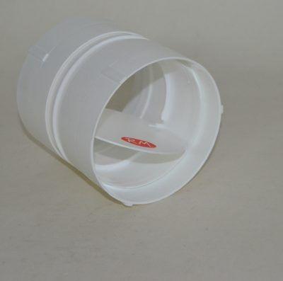 Válvula antirretorno aire campana Ø100 mm PVC