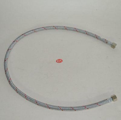 Latiguillo quemador caldera gasoil H 3/8 180° H 3/8 180° 100cm