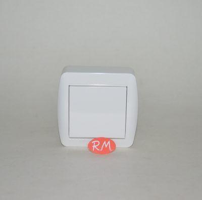 Conmutador cruce superficie blanco Solera MUR09U