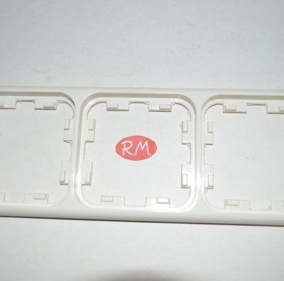 Marco 3 elemento mecanismo empotrar serie 1000 marfil