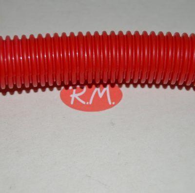 Tubo corrugado rojo 23 mm rollo de 10 metros