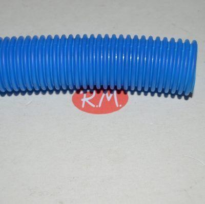 Tubo corrugado azul 23 mm rollo de 10 metros