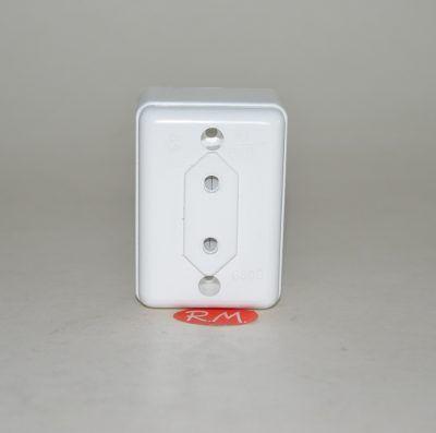 Base superficie rectangular sin TTL blanca 10A