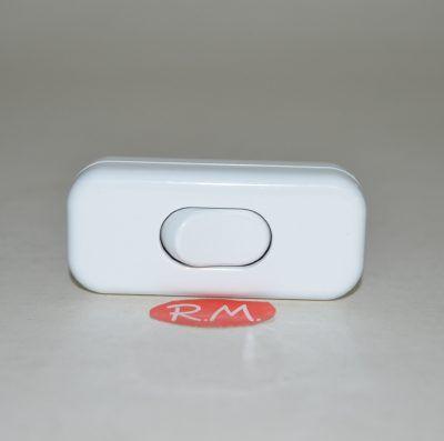 Interruptor de paso unipolar blanco 2A