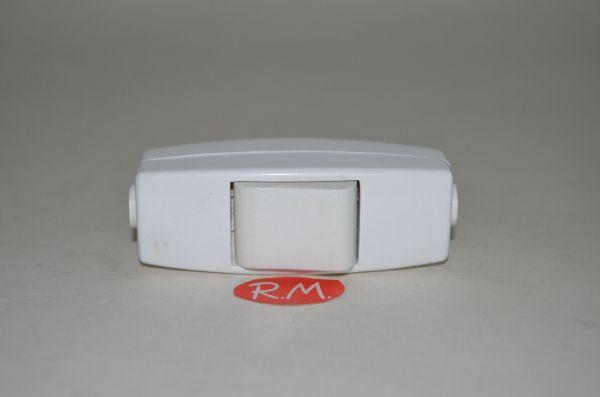 Interruptor de paso unipolar blanco 10A