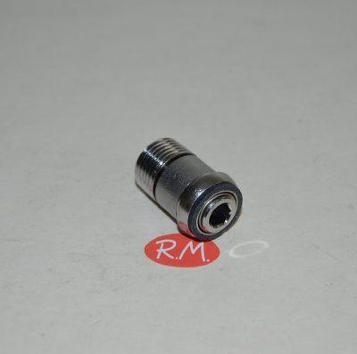 """Enlace cromado radiador M 1/2"""" telescópico recto"""
