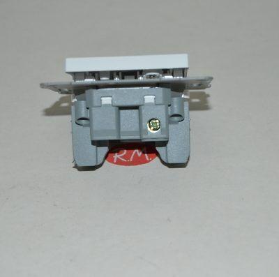 Pulsador campana empotrar Onlex blanco 23853