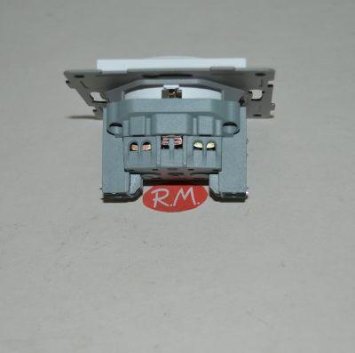 Base enchufe empotrar con TTL Onlex blanco 23852