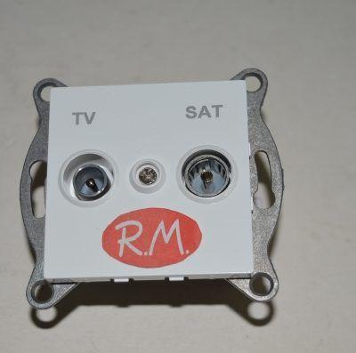 Base intermedia antena TV empotrar Onlex 27279