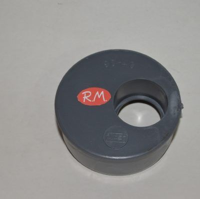 Reducción excéntrica PVC M 90 - H 40