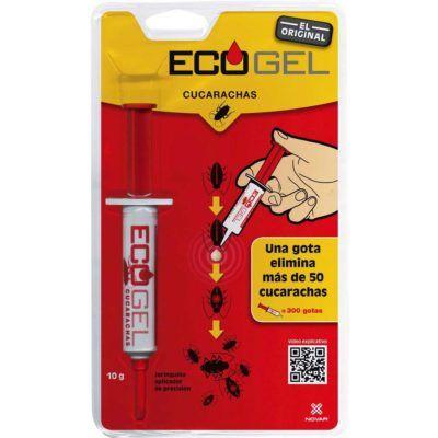 Ecogel jeringa insecticida cucarachas 5gr