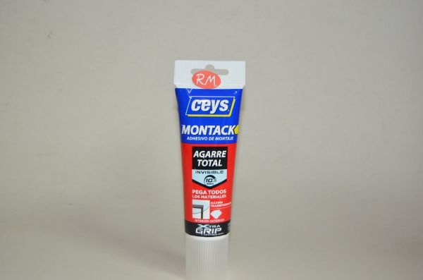 Ceys montack agarre total invisible 135gr 507275