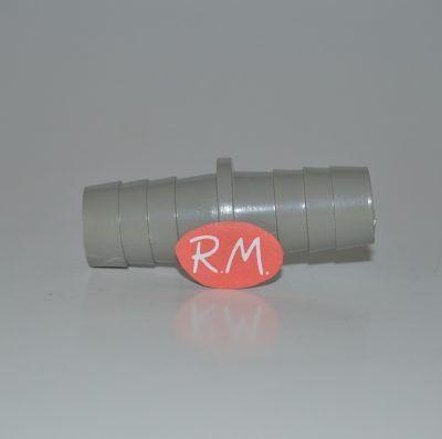 Racor unión 2 tubos desagüe lavadora - lavavajillas Ø 20 mm