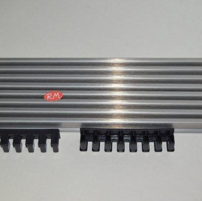 Rejilla ventilación horno de 90 cm 8 lamas inox