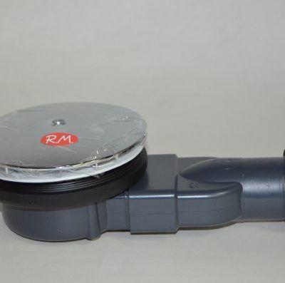 Válvula plato ducha wirquin slim pro 90 mm