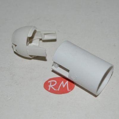 Portalámparas E-14 blanco Solera 6584CLB