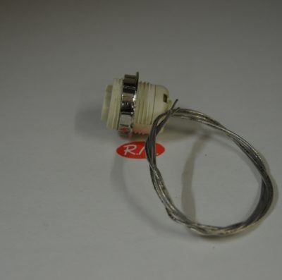 Portalámparas bombilla G9 con arandela Ø 27 mm