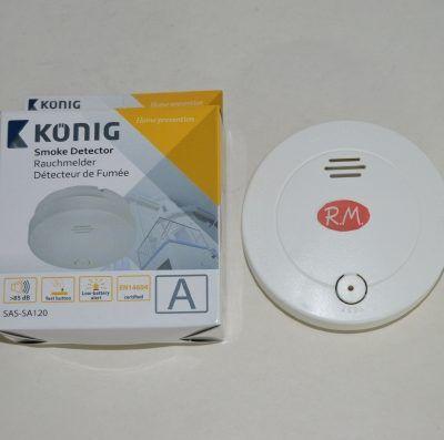 Alarma detector humo Konig SAS-SA10