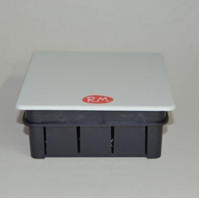 Caja de empalme empotrar cuadrada 100 x 100 mm Solera 562