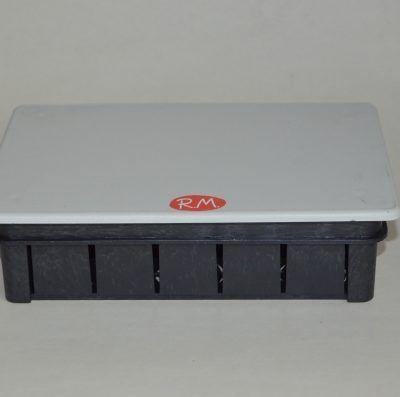 Caja de empalme empotrar rectangular 160 x 100 mm Solera 563