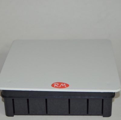 Caja de empalme empotrar cuadrada 150 x 150 mm Solera 623