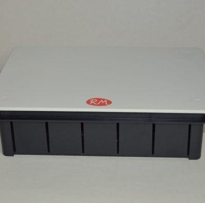 Caja de empalme empotrar rectangular 200 x 130 mm Solera 614