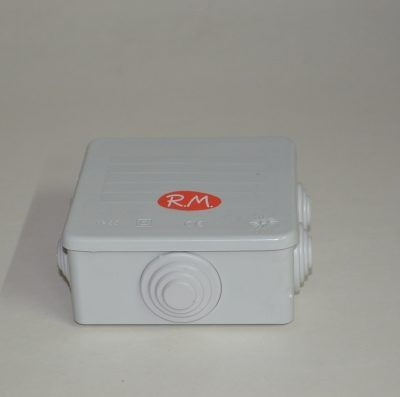 Caja de empalme estanca superficie 80 x 80 mm