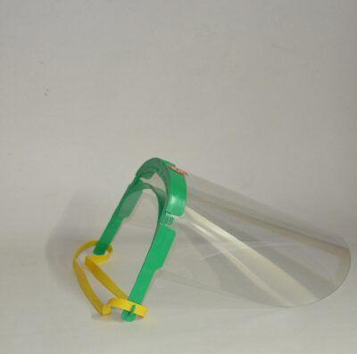 Pantalla facial policarbonato 2 visores