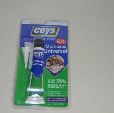 Ceys silicona ácida antimoho transparente 50ml 505501