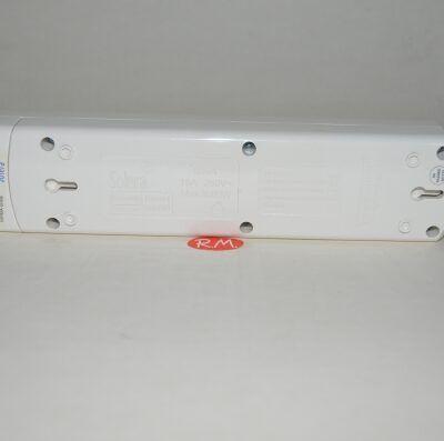 Base 4 tomas TTL blanca sin cable Solera 8004
