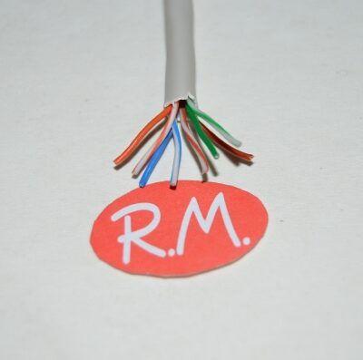 Cable de red CAT5e 8 hilos gris a metros