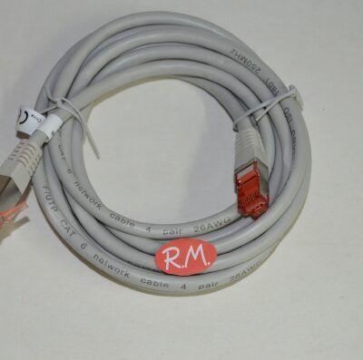 Alargo cable red 3 metros RJ45 CAT6