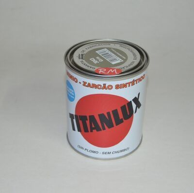 Bote 375ml minio sintético gris Titanlux 3043