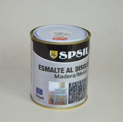 Bote 750ml pintura esmalte blanco brillo