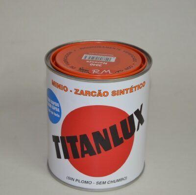 Bote 750ml minio sintético naranja Titanlux 3040