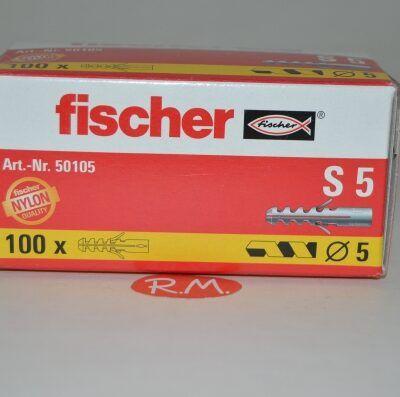 Taco Fischer de expansión S 5 caja 100 unidades