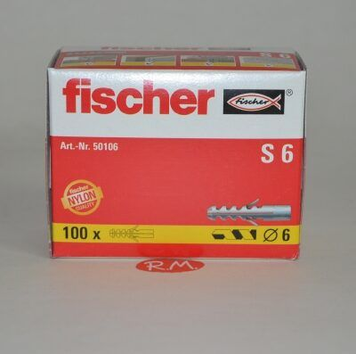 Taco Fischer de expansión S 6 caja 100 unidades
