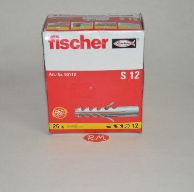 Taco Fischer de expansión S 12 caja 25 unidades