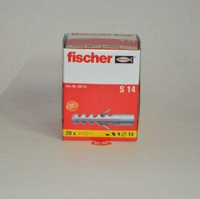 Taco Fischer de expansión S 14 caja 20 unidades