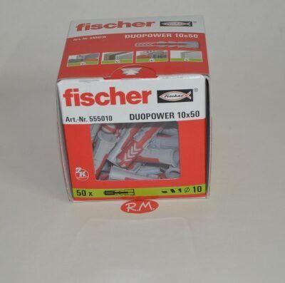 Fischer caja 50 tacos duopower 10 x 50