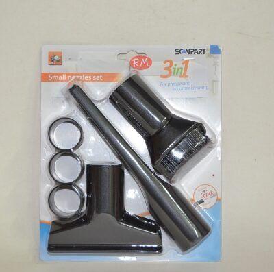 Kit cepillos y accesorios aspirador universal