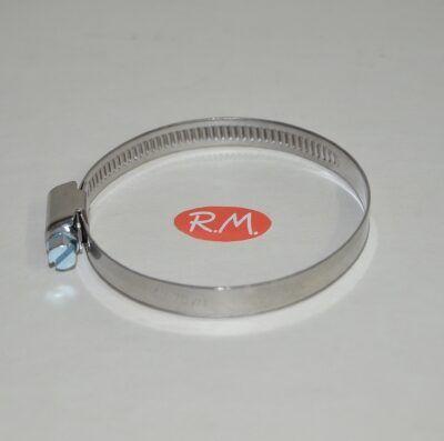 Abrazadera sin fin 50 - 70 mm INOX