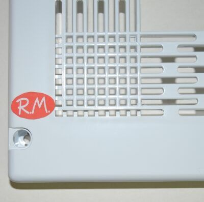 Marco para microondas universal 60 x 40 cm blanco