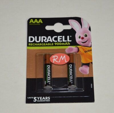 Pila recargable Duracell LR03 AAA (blister de 2)