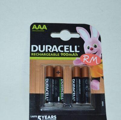 Pila recargable Duracell LR03 AAA (blister de 4)