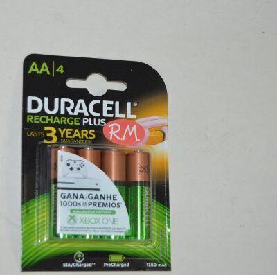 Pila recargable Duracell LR06 AA (blister de 4)