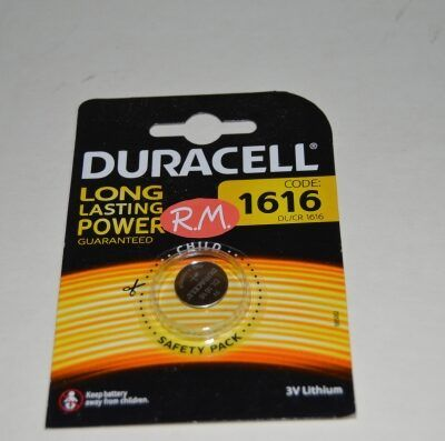 Pila de botón litio CR1616 16 x 1.6 mm 3 V