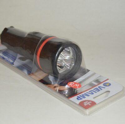 Linterna impermeable 3 leds Velamp