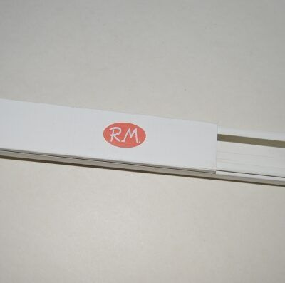 Canaleta blanca 20 x 30 mm tira de 2 metros